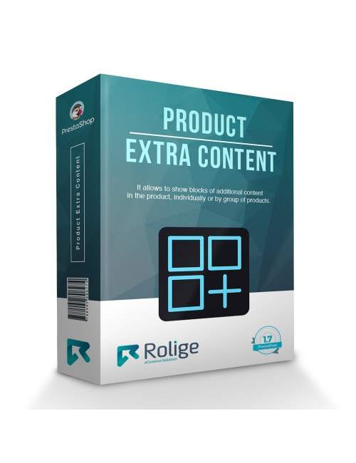Product Extra Content Module for PrestaShop