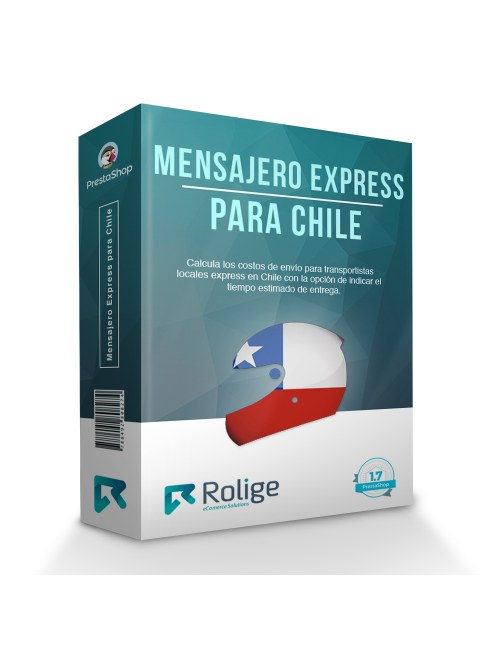 Express Courier on Motorcycle and Bicycle for Chile, PrestaShop Module