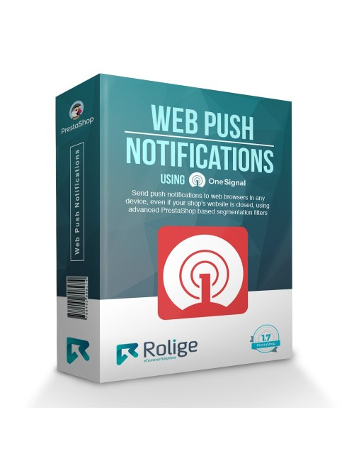 Web Browser Push Notifications using OneSignal, Module for PrestaShop
